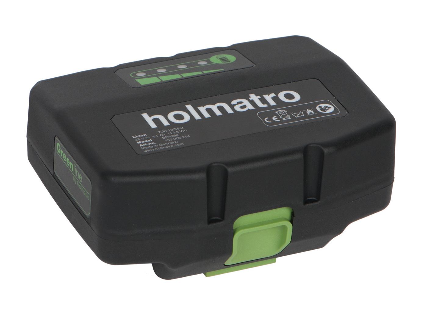 Holmatro BPA litúm hleðslurafhlaða