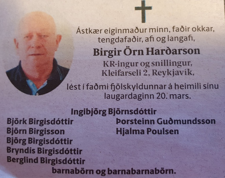 Birgir Örn Harðarson
