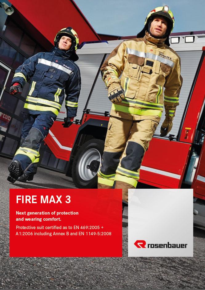Rosenbauer Fire Max 3 hlífðarfatnaður